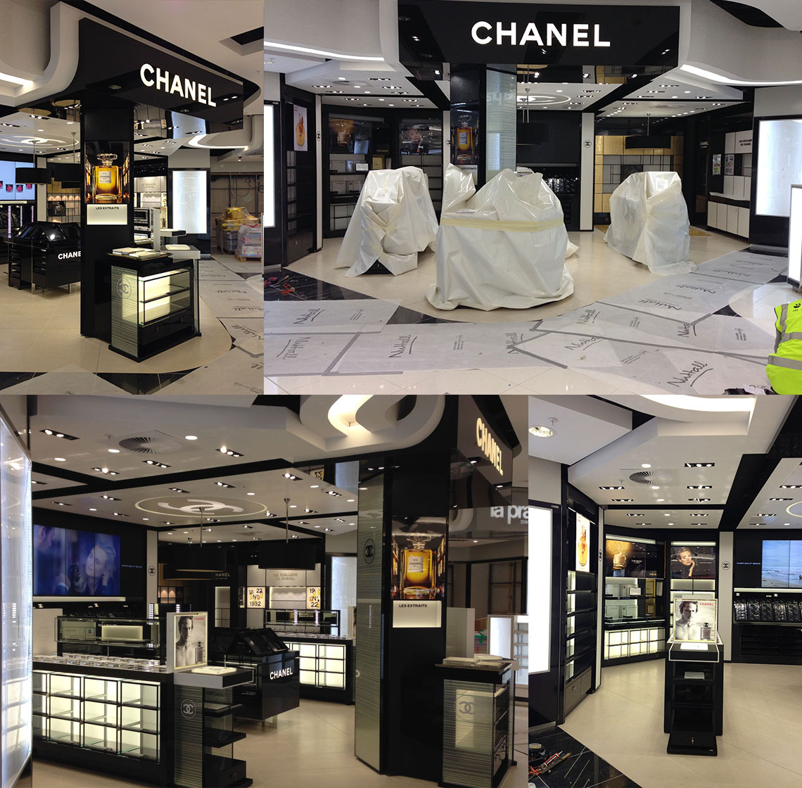 Heathrow Terminal Two Shopfitting